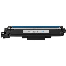 Brother TN 257C Cyan Compatible Toner Cartridge