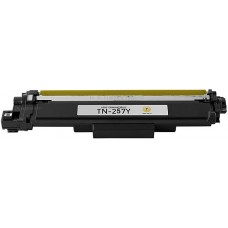 Brother TN 257Y Yellow Compatible Toner Cartridge