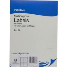Initiative Premium Multipurpose Labels 21Up 63.5 X 38.1mm